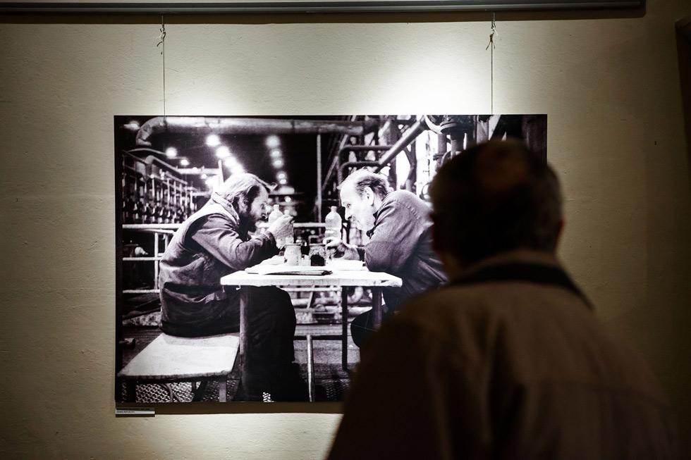 Mocná výstava Jindřicha Štreita na téma horníci
