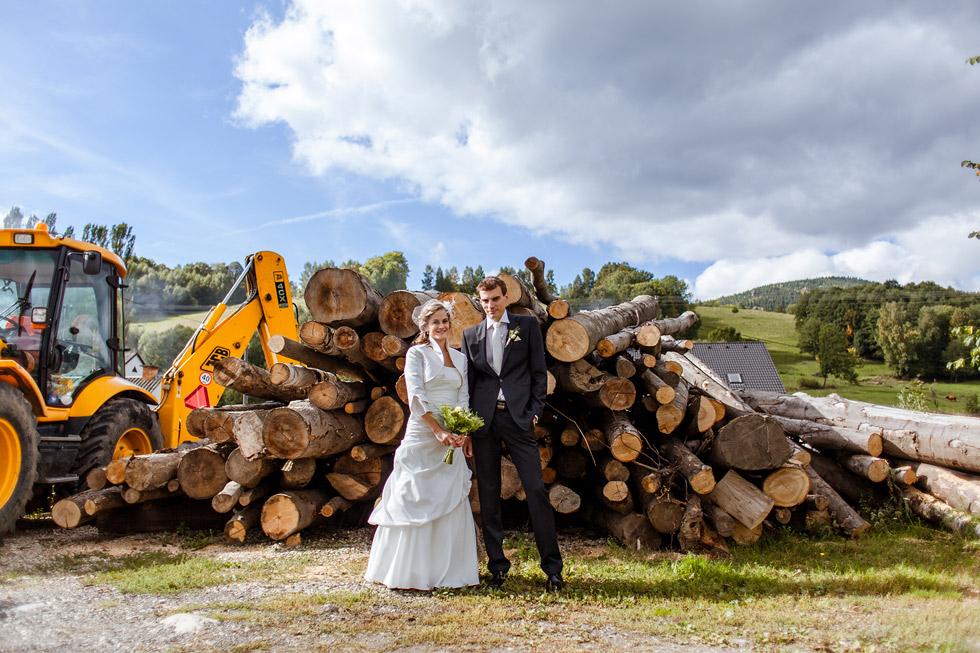 Svatba Moniky a Lukáše