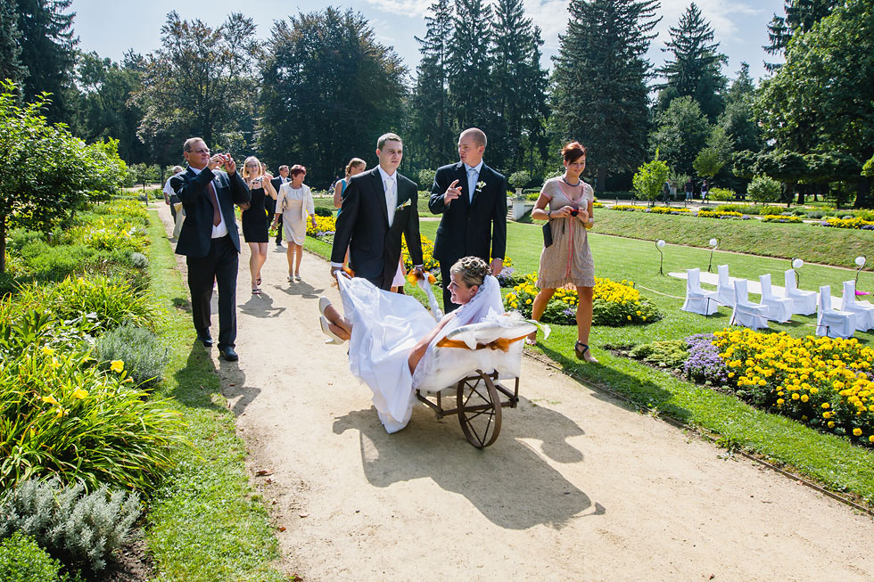 Svatba Lucie a Davida