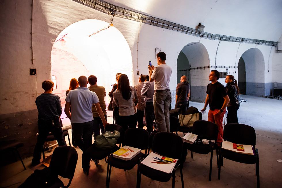 Fotografování workshopu pro Philips