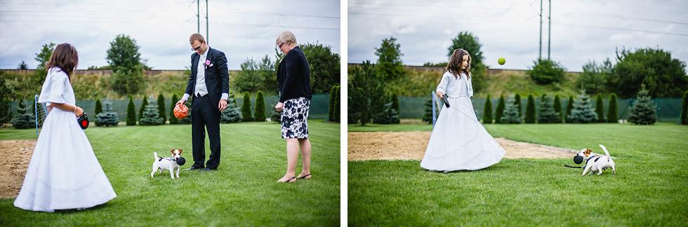 Svatba Elišky a Davida