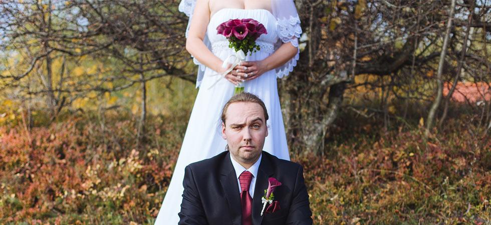 Radek a Martina na louce a svatba ve Valašské Bystřici