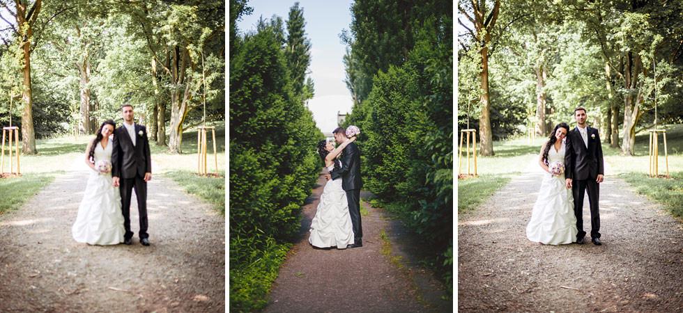 Eva a Pavel na svatbě v Čechách pod Kosířem