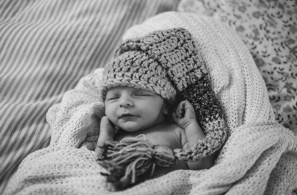Mikuláš je prostě roztomilé miminko