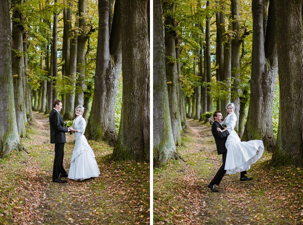 Kársná svatba v Parku v Loučné nad Desnou