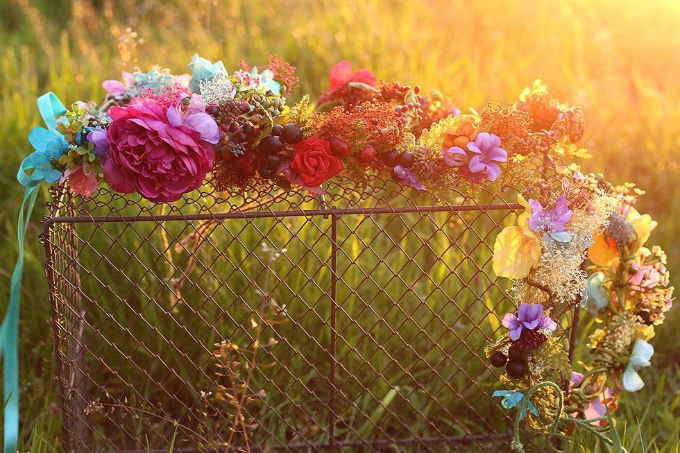 Květinová výzdoba Magaela