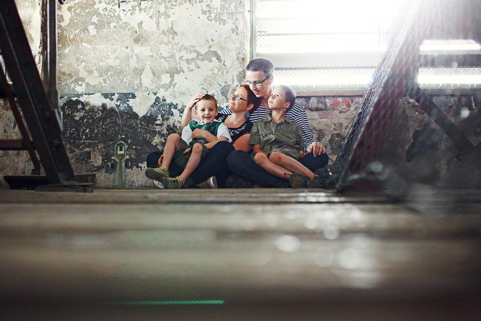Zuzka s rodinkou v Mořici na věži
