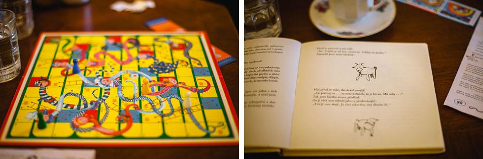 Člověče nezlob se a kniha