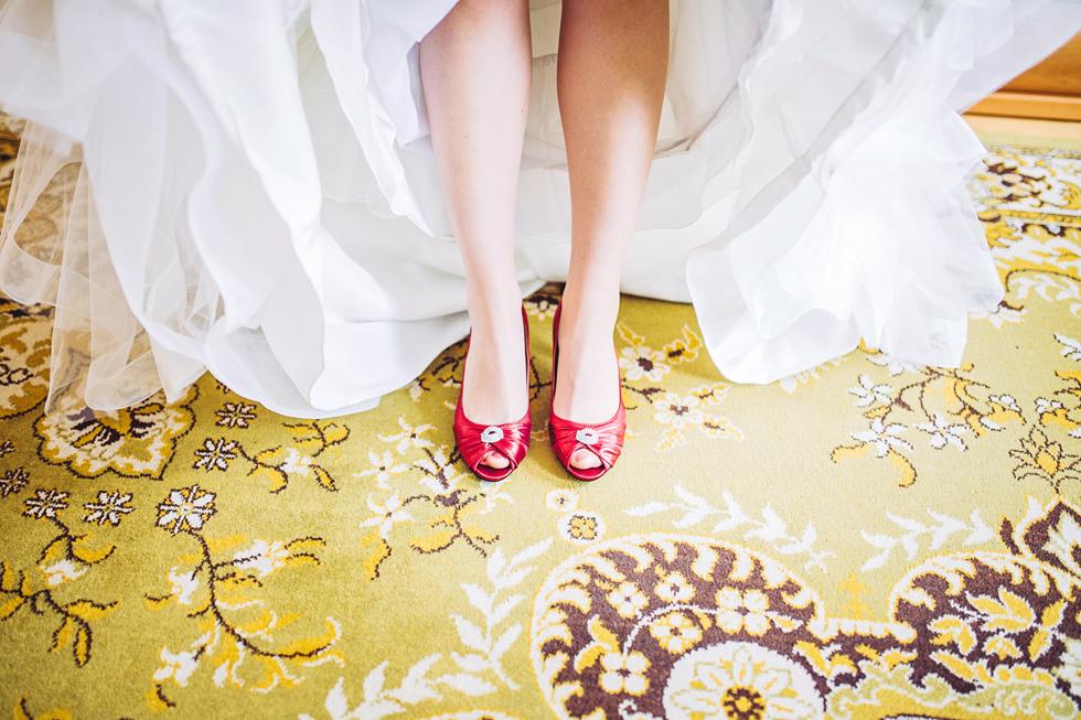 Svatební střevíce