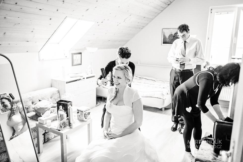 Česání nevěsty