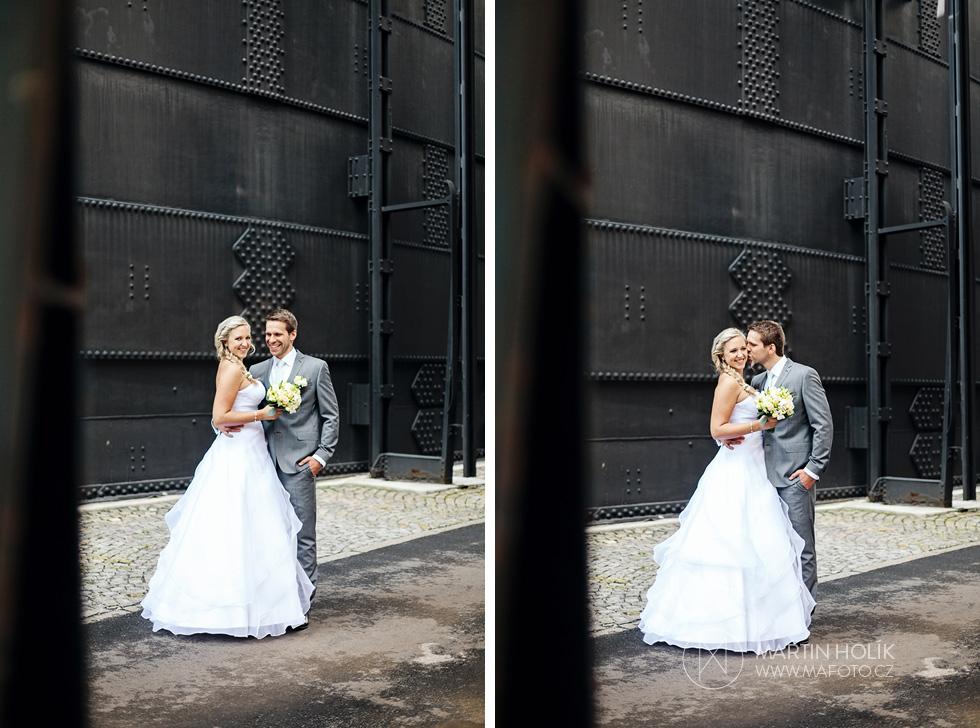 Dvojportrét nevěsty a ženicha