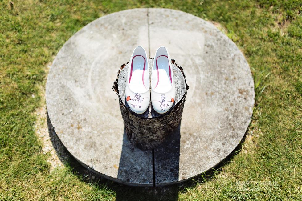 Fotografie svatebních střevíců