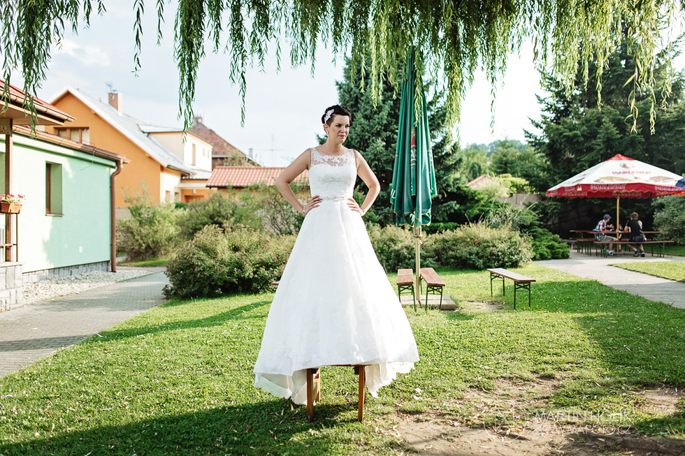 Nevěsta očekává ženicha