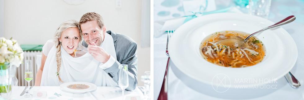 Novomanželská polévka