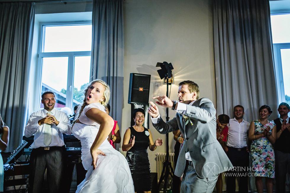 Novomanželský tanec trochu jinak