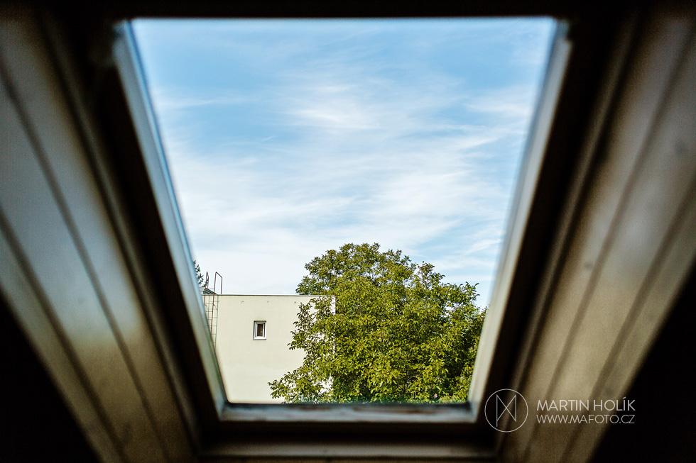 Okno do duše z pokoje nevěsty
