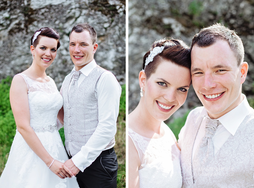 Portréty novomanželů