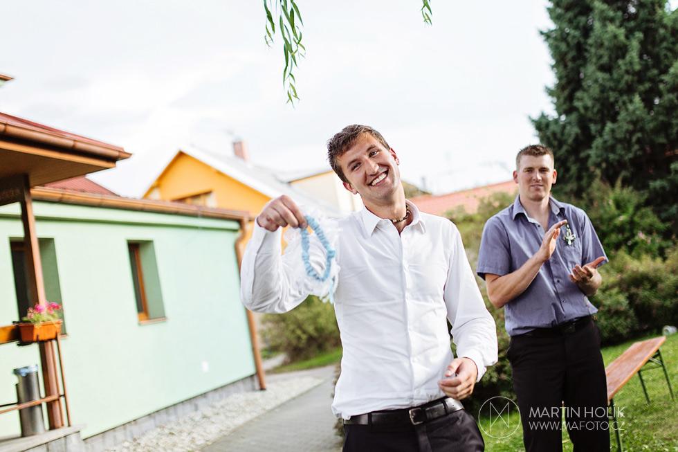 Šťastný majitel podvazku