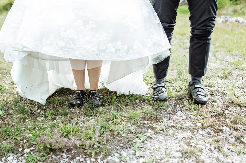 Svatební cyklistické tretry