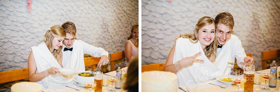 Svatební knedlíčková polévka