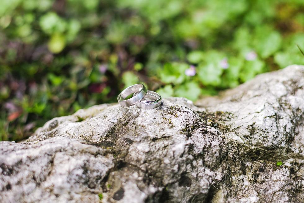 Svatební prstýnky na kameni