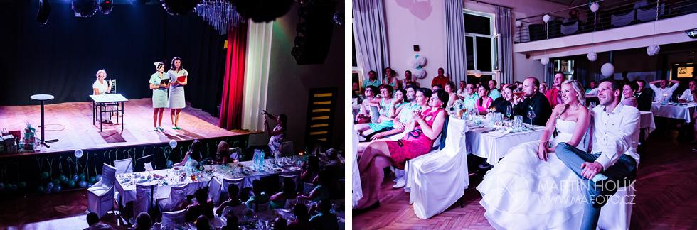 Svatební vystoupení pro novomanžele