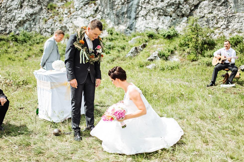 Svatební zvyky po obřadu