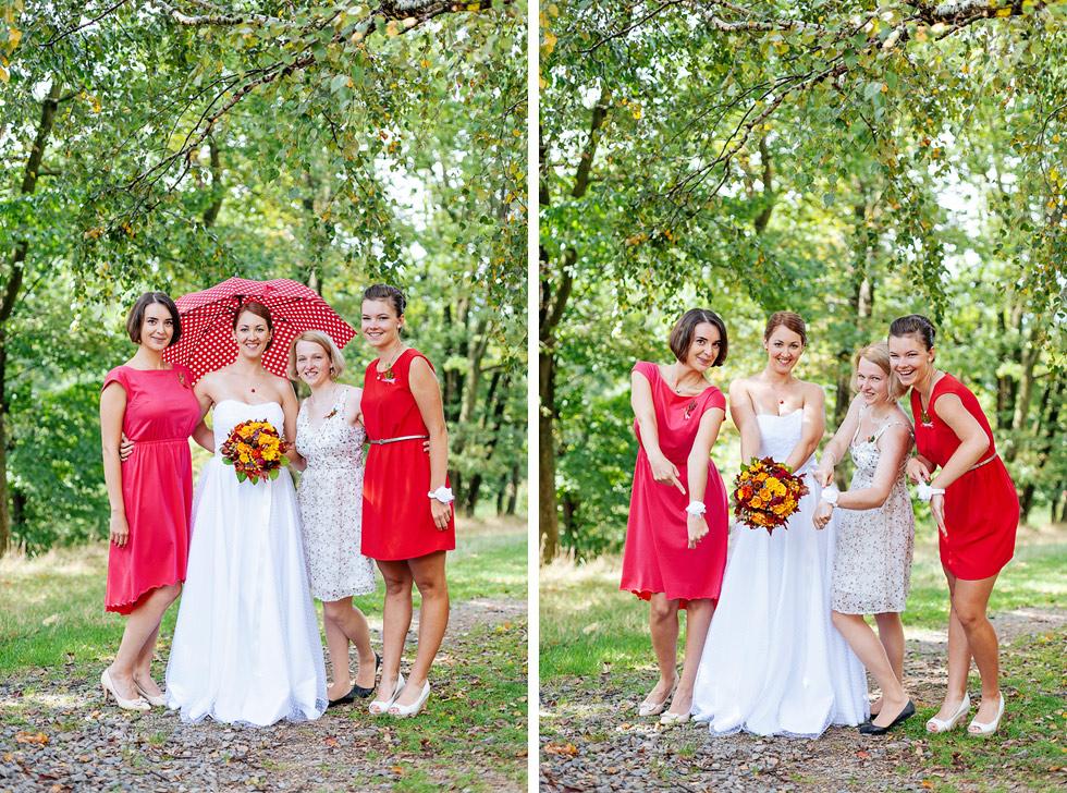 Nevěsta a její kamarádky