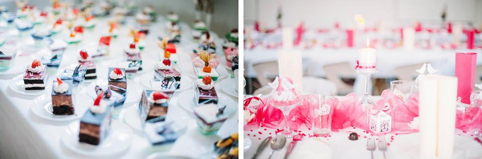 Fotografie svatebních dobrot
