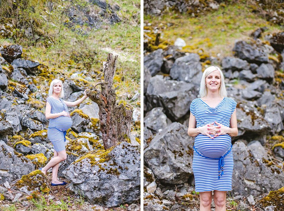 Hrdá budoucí maminka aneb těhotenské foto jinak