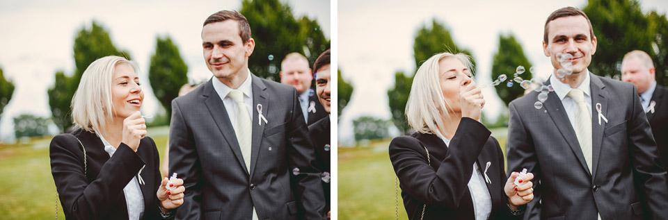 Bublifukování na svatbě