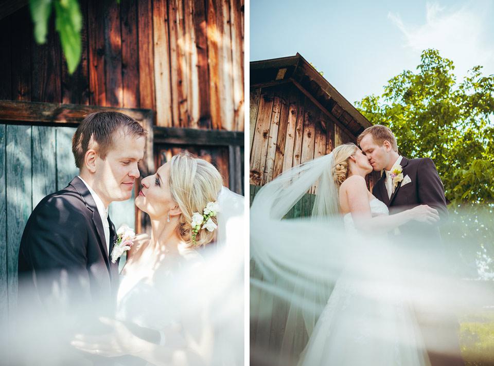 Epický dvojportrét nevěsty a ženicha