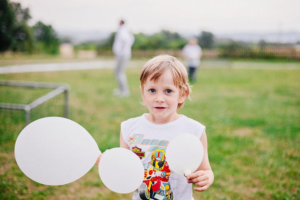 Děti si svatbu umí užít