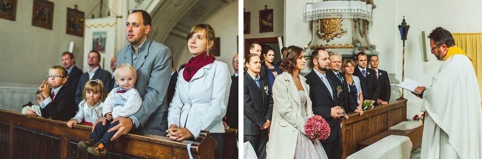 Svateba v kostele a svatební obřad