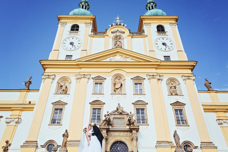 Svatební fotografie na svatém kopečku