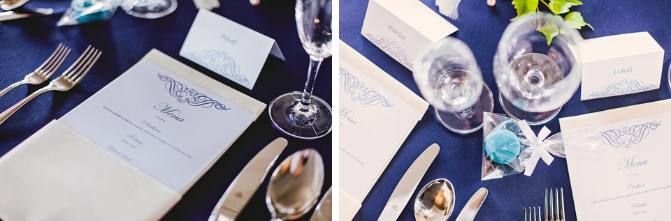 Svatební menu na Prachárně