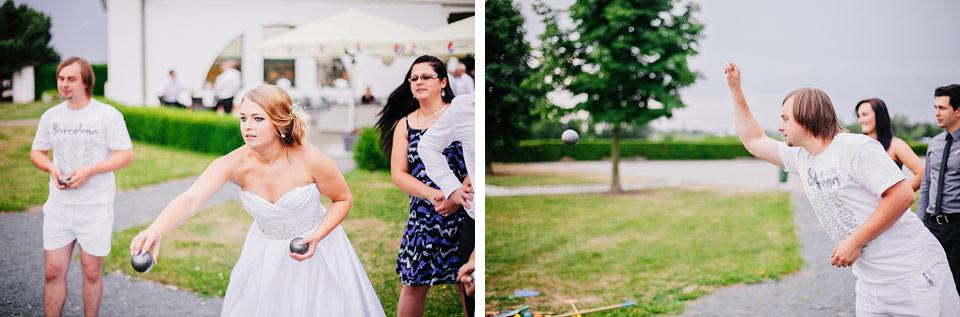 Svatební petanque