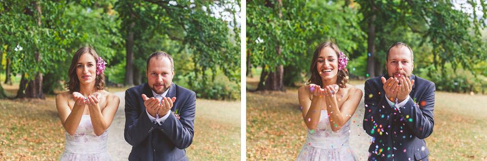 Veselá svatební fotografie