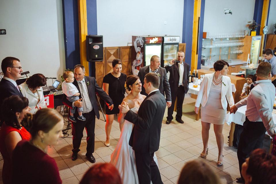 Další fotka prvního svatebního tance