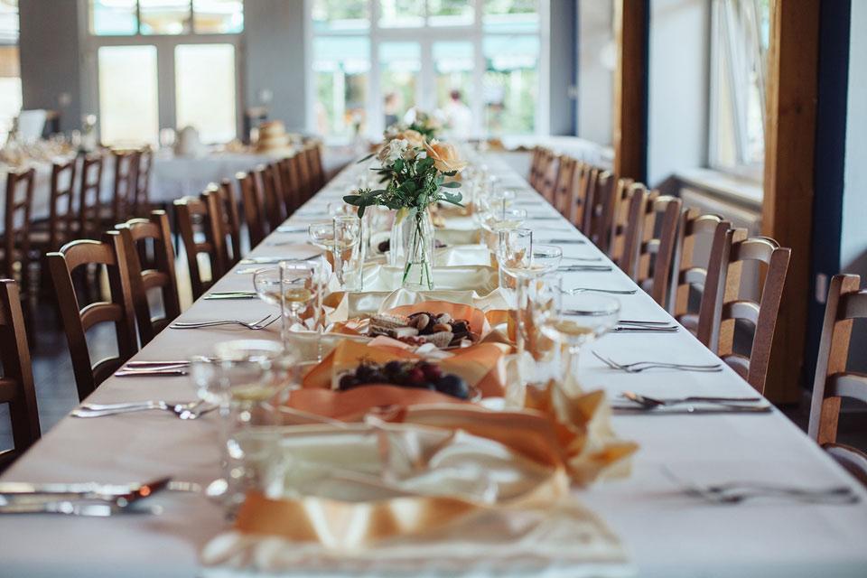 Detailní fotografie svatební tabule