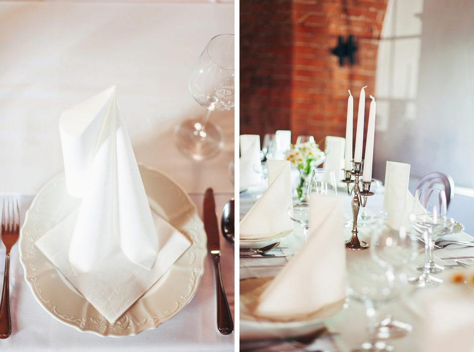 Detailní fotka ze svatební tabule