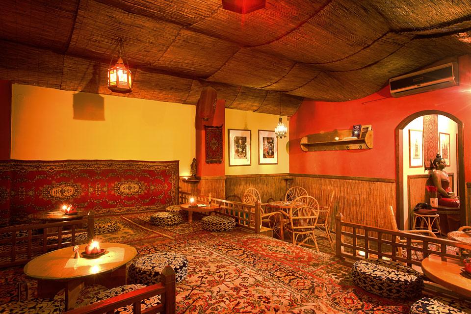 Fotka čajového salonku v Dobré čajovně