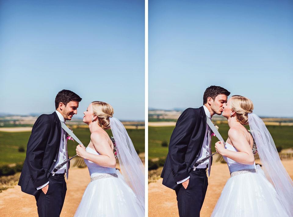 Fotka nevěsty, která si přitáhla ženicha