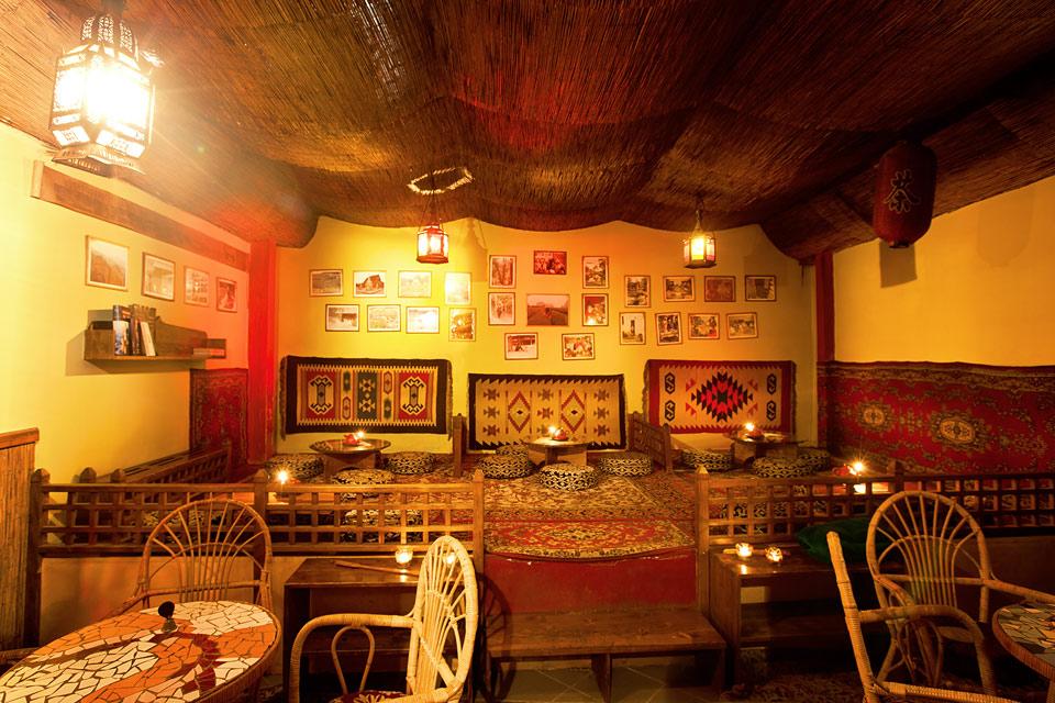 Fotka salonku v Dobré čajovně