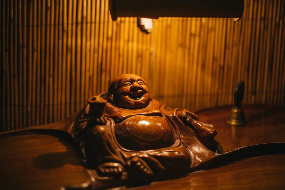 Fotografie Buddhy v Dobré čajovně