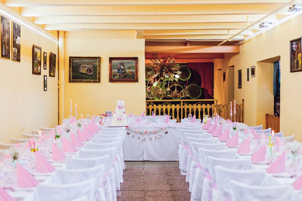 Fotografie svatební tabule