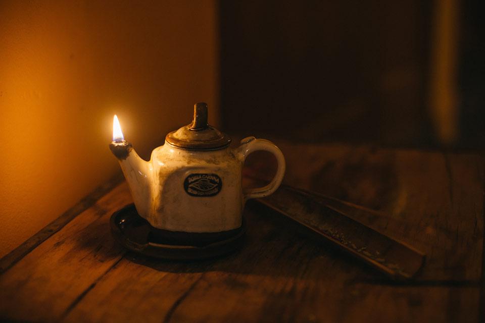 Fotografie vonné tyčinky v Dobré čajovně