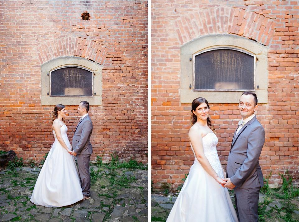 Svatební portréty na pevnosti fort Křelov