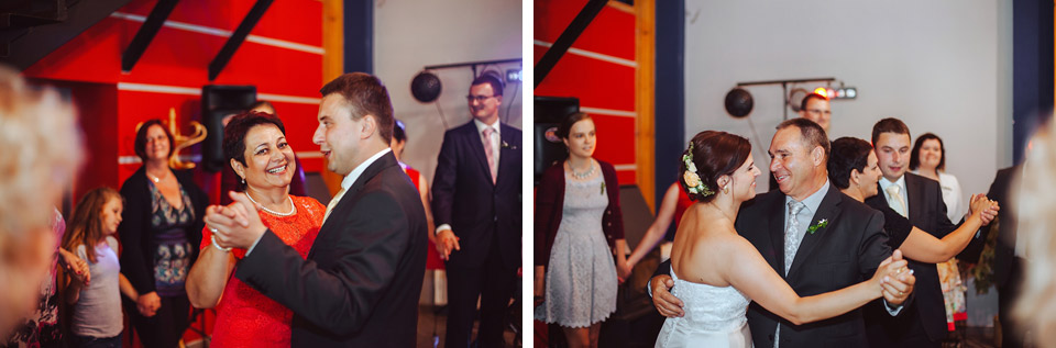 Svatební tancovačka na svatbě