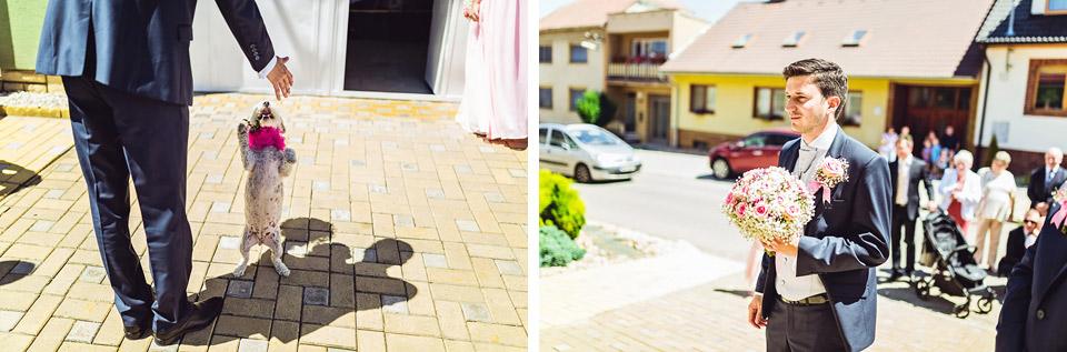 Ženich si jde pro nevěstu